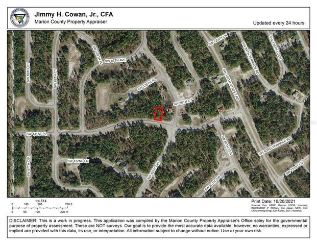 Sw 131St Pl, Ocala, FL 34473 (MLS #OM629120) :: Vivian Gonzalez | Ocean Real Estate Group, LLC