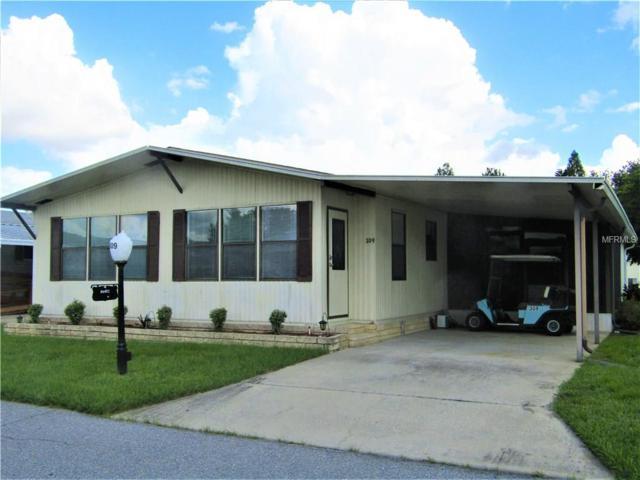309 Townbridge Drive, Haines City, FL 33844 (MLS #P4717707) :: Team Pepka