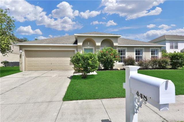 448 Fish Hawk Drive, Winter Haven, FL 33884 (MLS #P4902541) :: Dalton Wade Real Estate Group