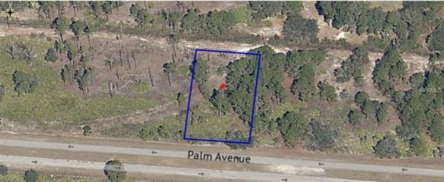 0 Palm Avenue, Indian Lake Estates, FL 33855 (MLS #P4905692) :: Delgado Home Team at Keller Williams