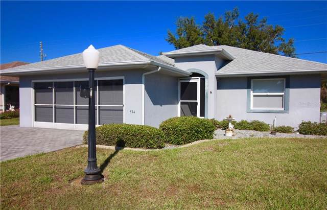 594 Sweetwater Way, Haines City, FL 33844 (MLS #P4909348) :: Keller Williams on the Water/Sarasota