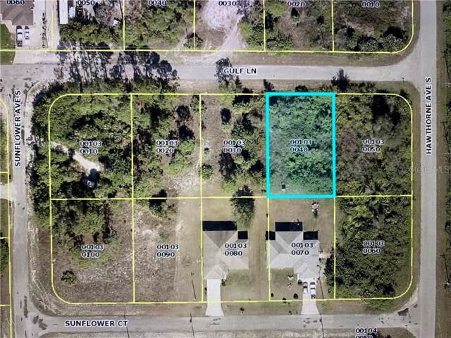 878 Gulf Lane, Lehigh Acres, FL 33974 (MLS #P4909459) :: Team Bohannon Keller Williams, Tampa Properties