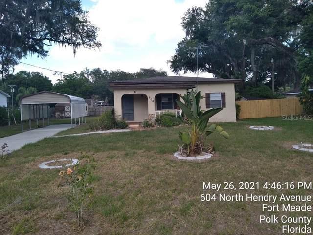 604 N Hendry Avenue, Fort Meade, FL 33841 (MLS #P4916026) :: Zarghami Group
