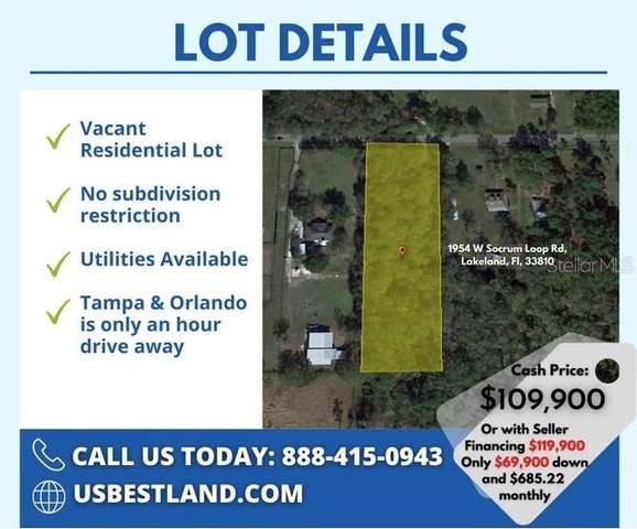 1954 W Socrum Loop Road, Lakeland, FL 33810 (MLS #P4917578) :: The Paxton Group