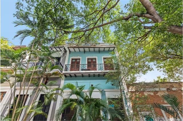 64 Caleta Old San Juan - 5 Apartments #64, SAN JUAN, PR 00901 (MLS #PR9093717) :: The Light Team