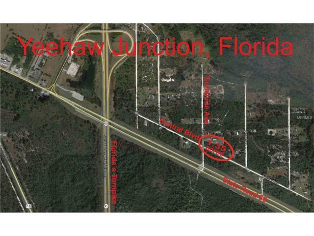 Sunshine Avenue, Okeechobee, FL 34972 (MLS #S4853818) :: Mark and Joni Coulter | Better Homes and Gardens