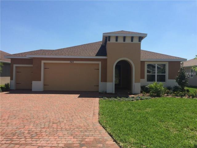 769 Irvine Ranch Road, Kissimmee, FL 34759 (MLS #S5000100) :: The Duncan Duo Team