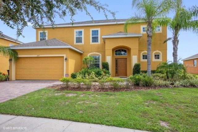 247 Yellow Snapdragon Drive, Davenport, FL 33837 (MLS #S5007018) :: The Light Team
