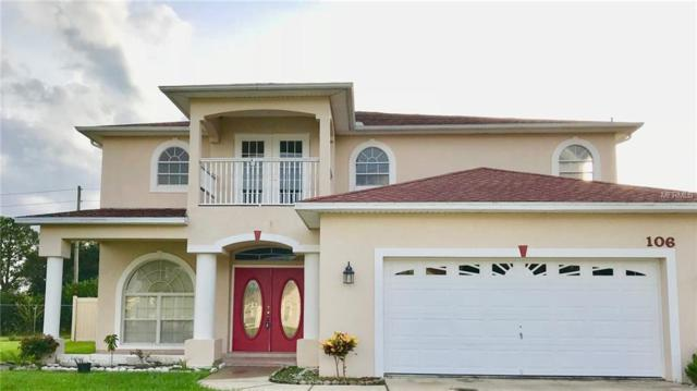 106 Castleford Way, Kissimmee, FL 34758 (MLS #S5008402) :: The Duncan Duo Team