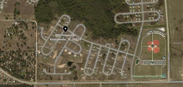 803 Fraser Drive, Poinciana, FL 34759 (MLS #S5009582) :: Delgado Home Team at Keller Williams