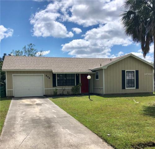 506 Everest Way, Kissimmee, FL 34758 (MLS #S5015573) :: Premium Properties Real Estate Services