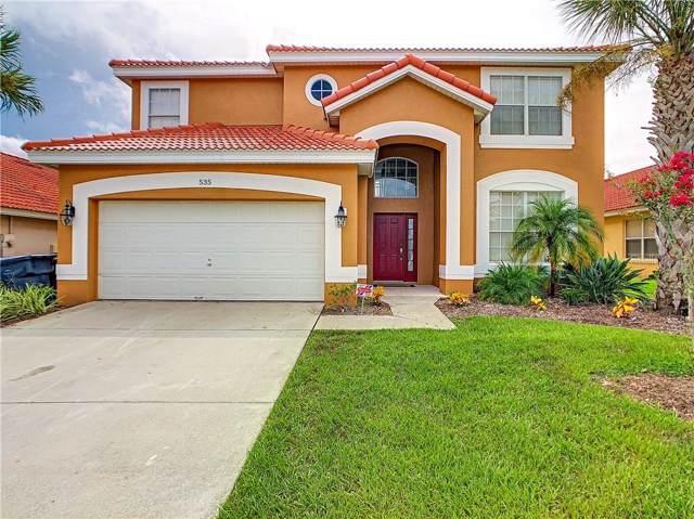 535 Paloma Drive, Davenport, FL 33837 (MLS #S5021307) :: The Brenda Wade Team