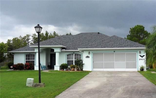 2401 Regent Way, Kissimmee, FL 34758 (MLS #S5023496) :: Burwell Real Estate