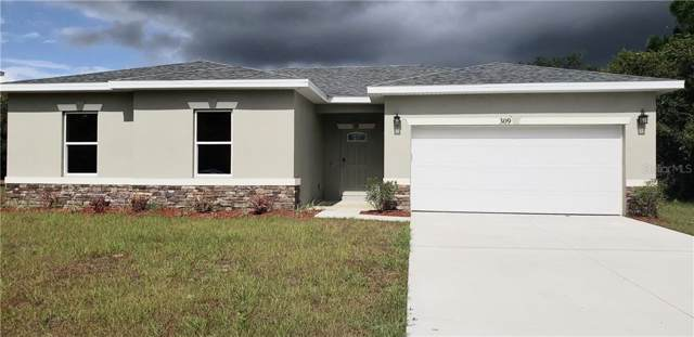 309 W Aster Court, Poinciana, FL 34759 (MLS #S5024869) :: Andrew Cherry & Company