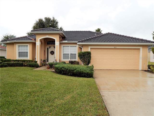 422 Bay Leaf Drive, Poinciana, FL 34759 (MLS #S5027588) :: The Duncan Duo Team