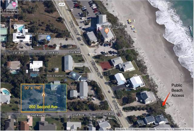 202 Second Avenue, Melbourne Beach, FL 32951 (MLS #S5027794) :: KELLER WILLIAMS ELITE PARTNERS IV REALTY