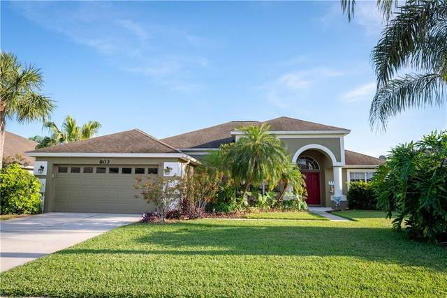 803 Chamberlin Trail, Saint Cloud, FL 34772 (MLS #S5032346) :: The Light Team