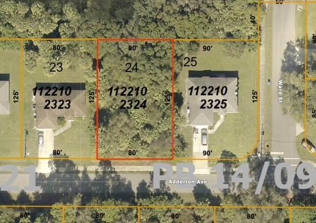 Adderton Avenue, North Port, FL 34288 (MLS #S5033002) :: Team Bohannon Keller Williams, Tampa Properties