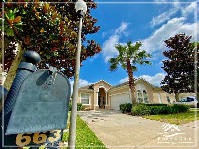 663 Copeland Drive, Haines City, FL 33844 (MLS #S5034424) :: Team Bohannon Keller Williams, Tampa Properties