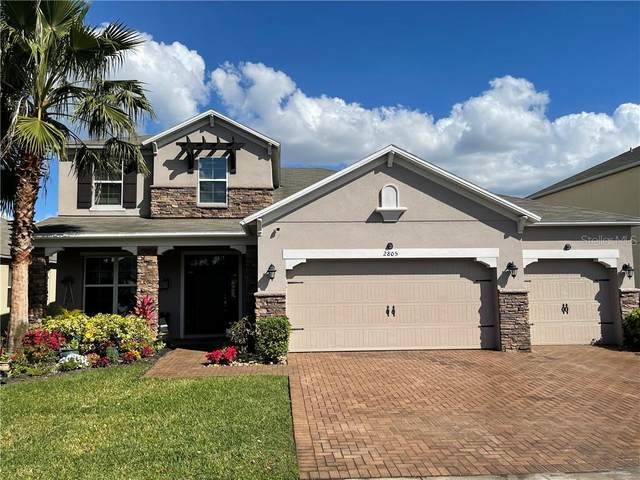 2805 Carter Grove Lane, Kissimmee, FL 34741 (MLS #S5046717) :: Sarasota Property Group at NextHome Excellence