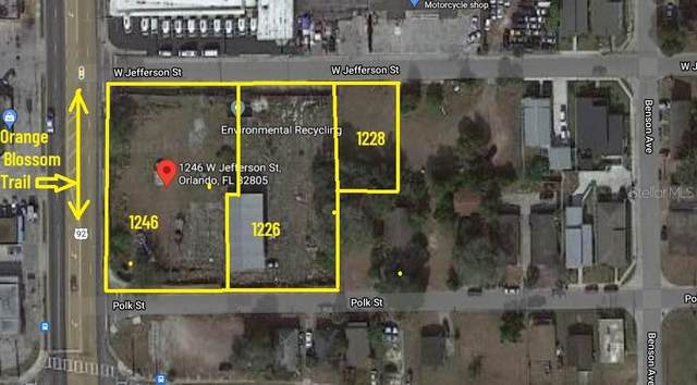 1246 W Jefferson Street, Orlando, FL 32805 (MLS #S5052869) :: Keller Williams Suncoast