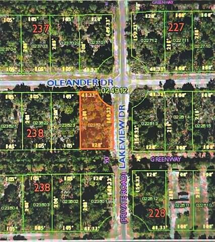 0 Oleander Drive, Indian Lake Estates, FL 33855 (MLS #S5057902) :: Everlane Realty