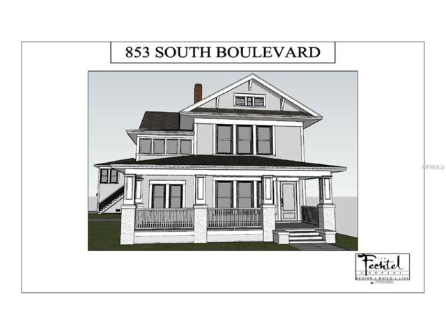 853 S Boulevard, Tampa, FL 33606 (MLS #T2895563) :: The Duncan Duo & Associates