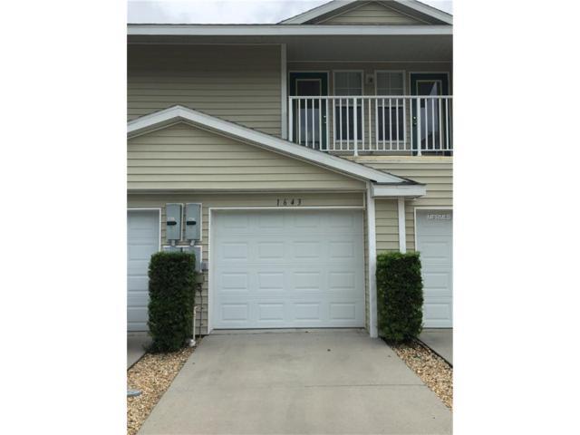 1643 Hammocks Avenue #1643, Lutz, FL 33549 (MLS #T2899327) :: Arruda Family Real Estate Team
