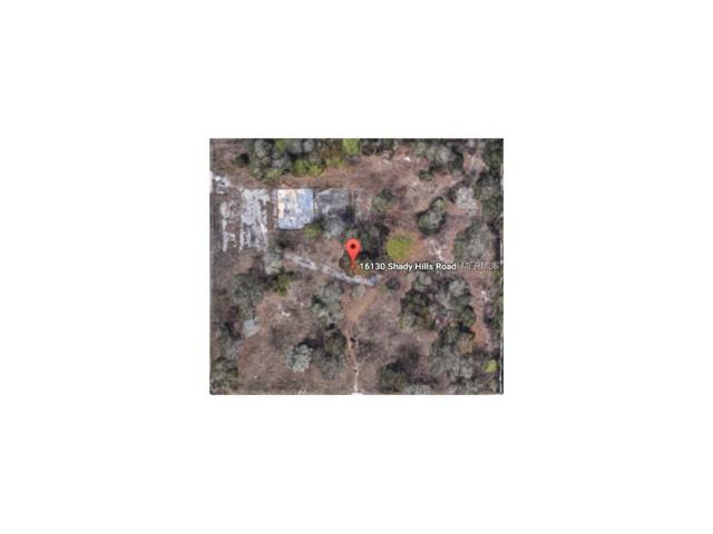 16130 Shady Hills Road, Spring Hill, FL 34610 (MLS #T2899710) :: Griffin Group