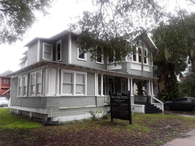 806 W De Leon Street, Tampa, FL 33606 (MLS #T2902552) :: The Duncan Duo & Associates