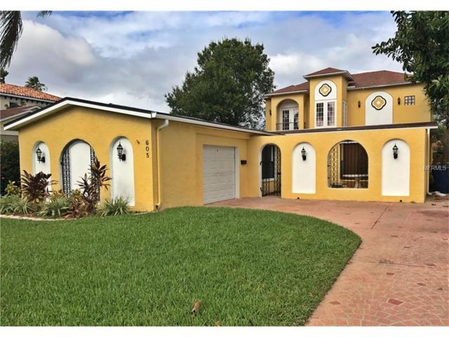 605 Danube Avenue, Tampa, FL 33606 (MLS #T2907395) :: Gate Arty & the Group - Keller Williams Realty