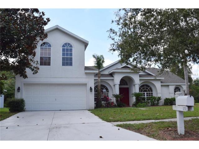 115 Kiana Drive, Brandon, FL 33511 (MLS #T2909672) :: The Duncan Duo & Associates