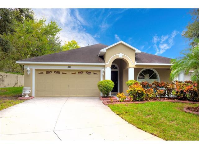 811 Lesa Glen Place, Brandon, FL 33510 (MLS #T2914019) :: Team Bohannon Keller Williams, Tampa Properties