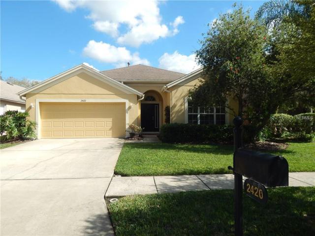 2420 Amberside Way, Wesley Chapel, FL 33544 (MLS #T2929486) :: Delgado Home Team at Keller Williams