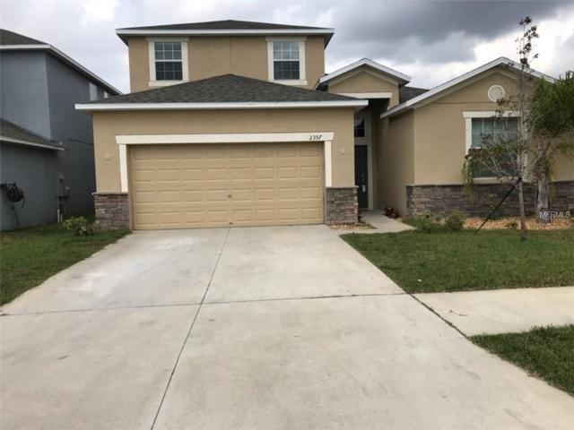 2357 Dovesong Trace Drive, Ruskin, FL 33570 (MLS #T2935578) :: Team Bohannon Keller Williams, Tampa Properties