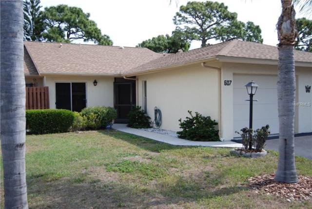 607 Pinebrook Crescent #7, Venice, FL 34285 (MLS #T3100506) :: The Duncan Duo Team