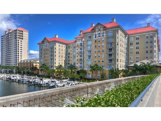 700 S Harbour Island Boulevard #603, Tampa, FL 33602 (MLS #T3102188) :: Cartwright Realty