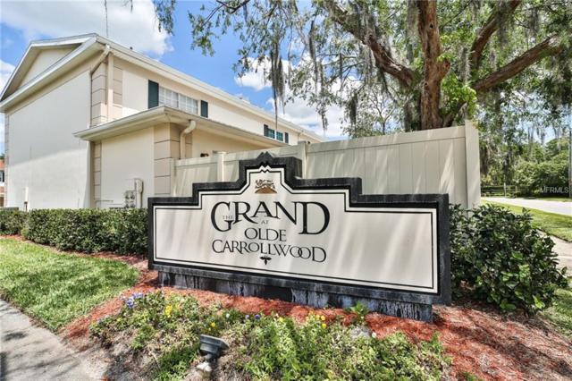 10343 Carrollwood Lane #124, Tampa, FL 33618 (MLS #T3102254) :: Cartwright Realty