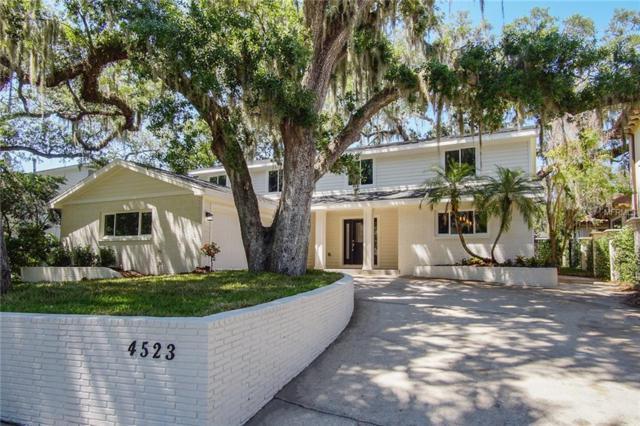 4523 W Beachway Drive, Tampa, FL 33609 (MLS #T3102485) :: The Lockhart Team