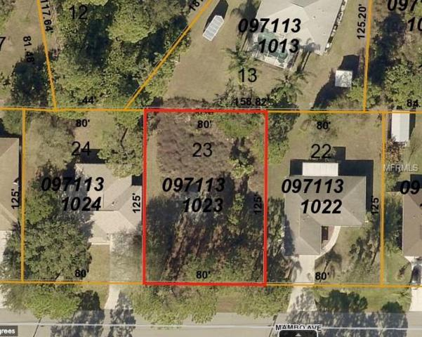 Mambo Avenue, North Port, FL 34291 (MLS #T3122428) :: Premium Properties Real Estate Services