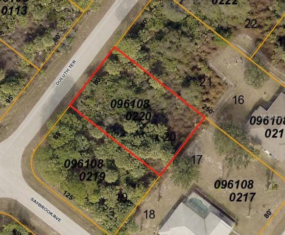 Duluth Terrace, North Port, FL 34286 (MLS #T3122869) :: Mark and Joni Coulter | Better Homes and Gardens