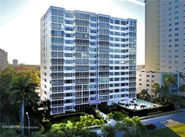 555 S Gulfstream Avenue #101, Sarasota, FL 34236 (MLS #T3127184) :: The Duncan Duo Team