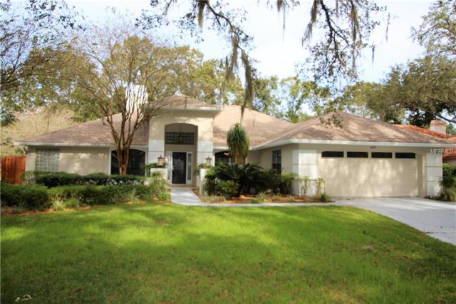 406 Stratfield Drive, Lutz, FL 33549 (MLS #T3146673) :: Andrew Cherry & Company