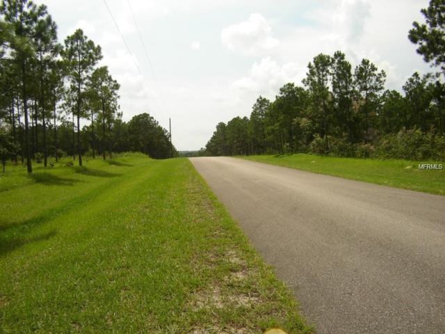 Multiple Lots - See Map -Pine Hills Estates, Dade City, FL 33525 (MLS #T3149512) :: The Duncan Duo Team