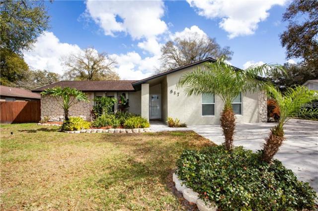 617 Pine Forest Drive, Brandon, FL 33511 (MLS #T3156448) :: Florida Real Estate Sellers at Keller Williams Realty