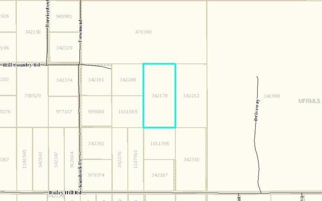 Hill Country Road, Brooksville, FL 34614 (MLS #T3158210) :: Griffin Group