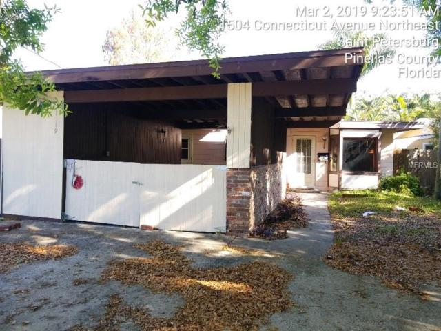 1519 Delaware Avenue NE, St Petersburg, FL 33703 (MLS #T3160300) :: Lockhart & Walseth Team, Realtors