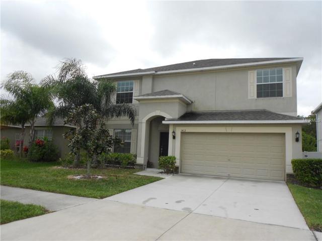 1412 Little Hawk Drive, Ruskin, FL 33570 (MLS #T3164909) :: NewHomePrograms.com LLC