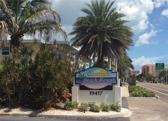 19417 Gulf Boulevard W A-109, Indian Shores, FL 33785 (MLS #T3168440) :: Lockhart & Walseth Team, Realtors
