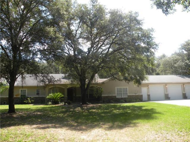 15750 Mahoney Drive, Brooksville, FL 34610 (MLS #T3175197) :: The Duncan Duo Team
